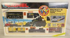 """LIONEL #6-11721 """"MICKEY'S WORLD TOUR"""" TRAIN SET-SEALED IN ORIG. BOX!"""