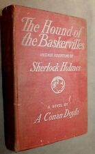 THE HOUND OF THE BASKERVILLES FIRST AMERICAN 1902 DOYLE McClure Phillips U.S.