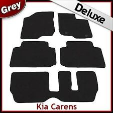 Kia Carens Manual (2007 2008 2009 2010 2011) Tailored LUXURY 1300g Car Mats GREY