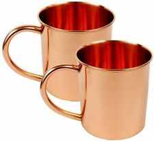 Pack of 2 Moscow Mule Copper Mug - Moscow Mule Mugs Unlined 16 oz