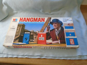 1977 Hangman By MB Games Complete With Instructions Board Game