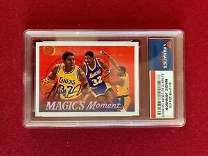 """1991, Magic Johnson, """"Autographed"""", UPPER DECK Trading Card (Vintage) Lakers"""