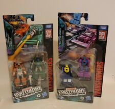 Transformers Earthrise Cybertron Micromaster LOT of Two (2) Action Figure
