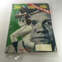 Vintage Newsweek Magazine Hank Aaron/Babe Ruth August 13 1973