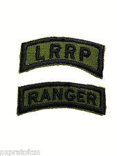 Patch 2 Tab Ranger e Lrrp Vietnam War