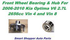 Front Wheel Bearing & Hub For 2006 2007 2008 2009 2010 Kia Optima V6 2.7L Vin 8