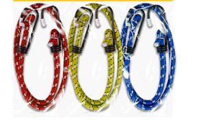 Bungee Strap Cords Best for Car Luggage Elasticated-Hooked 30cm,45cm,60cm(UK