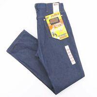 Vintage WRANGLER Rodeo Cowboy Blue Denim Regular Straight Jeans Mens W34 L34