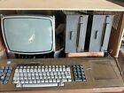 VINTAGE OLD DESKTOP COMPUTER- HUGHES AIRCRAFT SK42007-100 WITH AMPLIFIER picture
