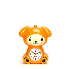 Adorable Baby in Puppy Robe Kids Musical Alarm Clock - Children Room Decoration