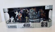 Disney Store Star Wars 40th Anniversary Empire Strikes Back Deluxe Figurine Set