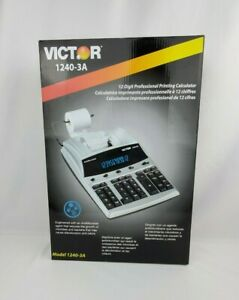 Victor 1240-3A Printing Calculator
