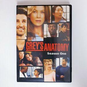 Greys Anatomy TV Series Season 1 DVD Region 4 PAL AUS Free Postage