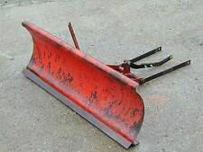 "Massey Ferguson 5 7 or 8 Tractor Mower 40"" Front Snow Blade Plow Complete Rare"