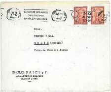 Argentine Cover Aviation Postal Stamps