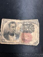 1874 10C Ten Cents US Fractional Currency Note,
