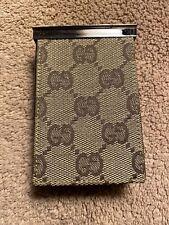 New listing Authentic Gucci Cigarette Case