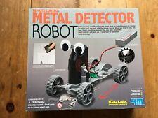 Remote Control Metal Detector Robot Kids Labs 4M