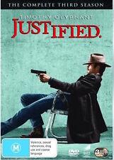 JUSTIFIED : SEASON 3 : NEW DVD