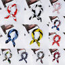 Vintage Silk Feel Satin Small Square Scarf Bandana Head Neck Tie Hair Band