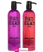 TIGI Bed Head Dumb Blonde Shampoo and Reconstructor Conditioner Duo - 25.36oz