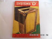 SYSTEME D N°154 OCTOBRE 1958 PENDERIE A COMMODE POUR ENFANT PENDERIE SIMPLE  G76