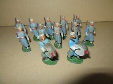 970I Rare Starlux 12 Soldats fanfare Nouba Tirailleurs Marocain