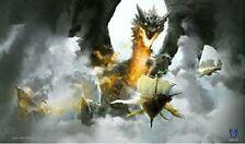 1x Max Protect Ambush Playmat Dragon Art for Magic Mtg Pokemon YuGiOh Play Mat
