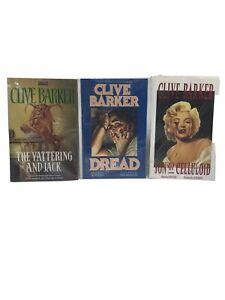 Lot of 3 CLIVE BARKER Graphic Novels VF Son Of Celluloid Dread Yattering & Jack