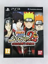 PS3 Naruto Shippuden Ultimate Ninja Storm 2 Collectors Edition, New & NOT Sealed