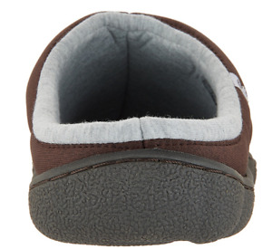 CLOUDSTEPPERS by Clarks Mens Jersey Slippers Step Rest Clog Brown
