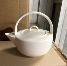 t2 teapot white Japanese inspired porcelain