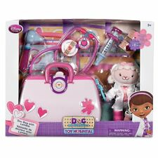 Authentic Disney Doc McStuffins Toy Hospital Doctor Play Set With Lambie Plush