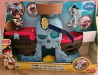 DISNEY Jake and the Neverland Pirates BATTLE AT SHIPWRECK FALLS Playset BN