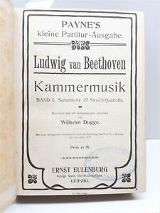 Quartetto d'archi Musica da camera Ludwig van Beethoven Leipzig 1895