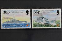 Ascension, Schiffe, MiNr. 666 + 667, postfrisch / MNH - 630322