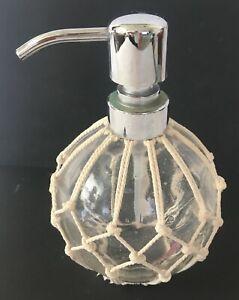 Nice Decorative Waved Rope Soap Dispenser Bottle E1