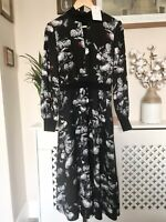 Ted Baker Eynah Narrnia Midi Dress RRP £229 Size 3 UK 12 Floral