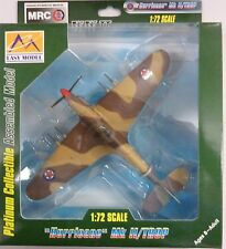 Easy Model MRC 1/72 Hurricane MKII Trop Yugoslavia WWII 1944 Builtup Model 37268