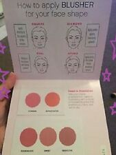 Younique Moonstruck Minerals Pressed Blusher Blush Sample Card Try B4 You Buy!