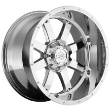 "4-Gear Alloy 726C Big Block 22x12 6x135/6x5.5"" -44mm Chrome Wheels Rims 22"" Inch"