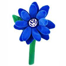 Volkswagen Beetle Plush Blue Daisy Flower