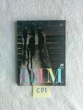 "HISTORY AUTOGRAPHED ""HIM"" Spade Ver. Album CD signed KPOP"
