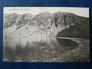 THE SCREES, WASTWATER POSTCARD 1905