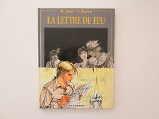 LA LETTRE DE FEU EO1993 TBE/TTBE JAMAR CHARLIER