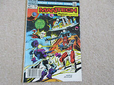 MANTECH-ROBOT WARRIORS No 1- Archie Comics 1984