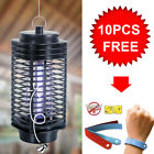 Home Room LED Insect Zapper Bug Killer Lamp Trap Light w/ Anti Mosquito Bracelet