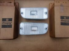 NOS Mopar 1975-1979 Cordoba Charger SE Lebaron Diplomat Back Up Lamp Pair