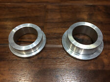 Kawasaki ZXR 750 swingarm spindle coversion bushes for using a ZX7R sleeve