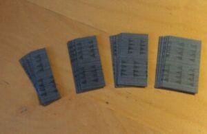 2000 Makita headless pin nails, 0.6mm dmtr, 23Ga, 500 each of 18, 25, 30 + 35mm